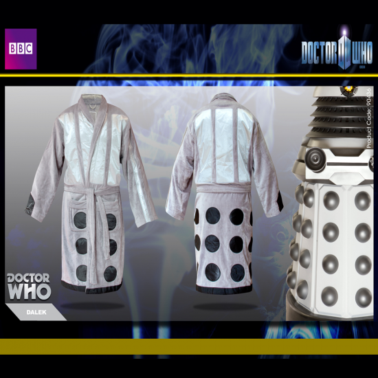 Dr Who Dalek Dressing Gown | Perfect Super Fan Gift | Menkind