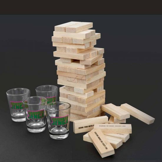 Drunken Jenga Drinking Game
