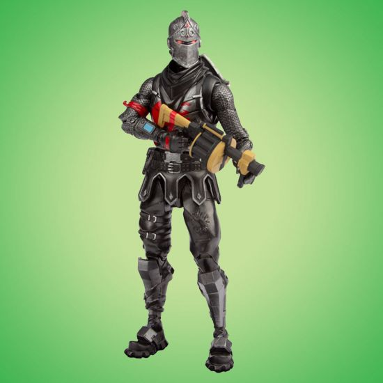 Fortnite Black Knight Action Figure - Green Background