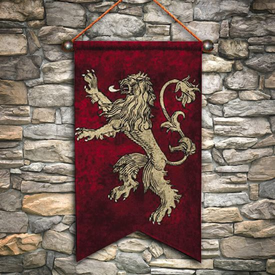Game of Thrones Lannister Wall Banner-Lifestyle