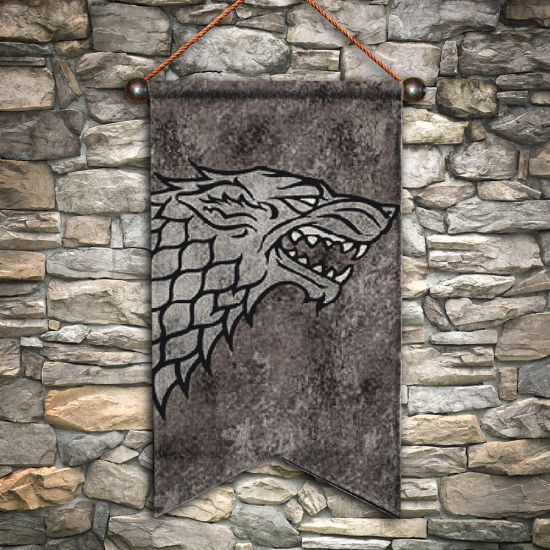Game of Thrones Stark Wall Banner-Lifestyle