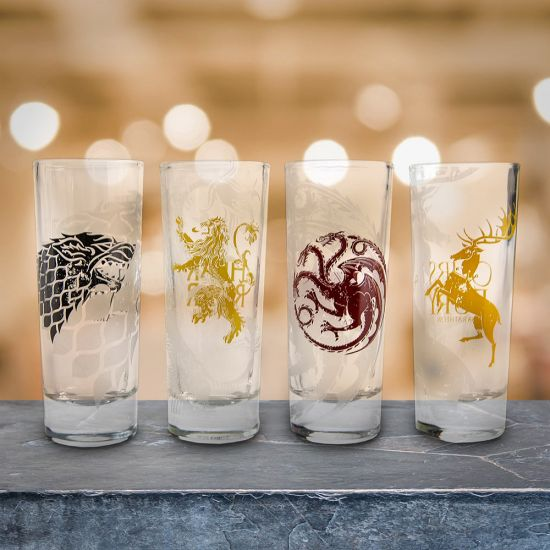Game of Thrones Four House Shot Glasses 1