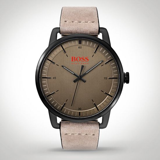 Hugo Boss Orange Stockholm 1550073 Watch on a grey background