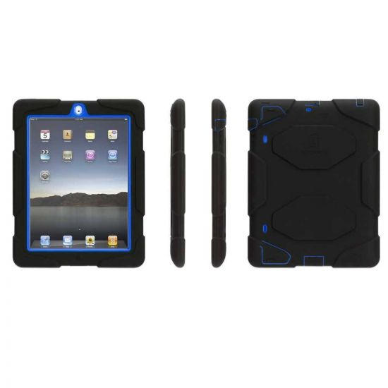iPad 2 Survivor Case Blue