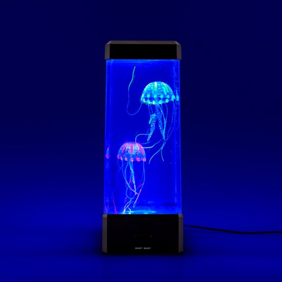 "Neon Jellyfish Tank "" Awesome Mood Light With Colour"