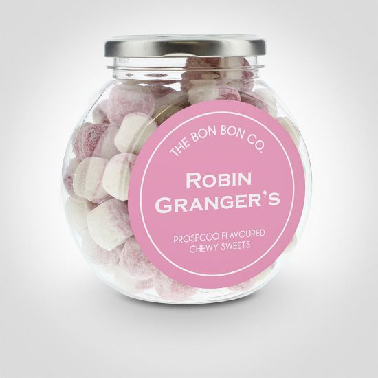 Personalised Prosecco Bon Bon Sweet Jar