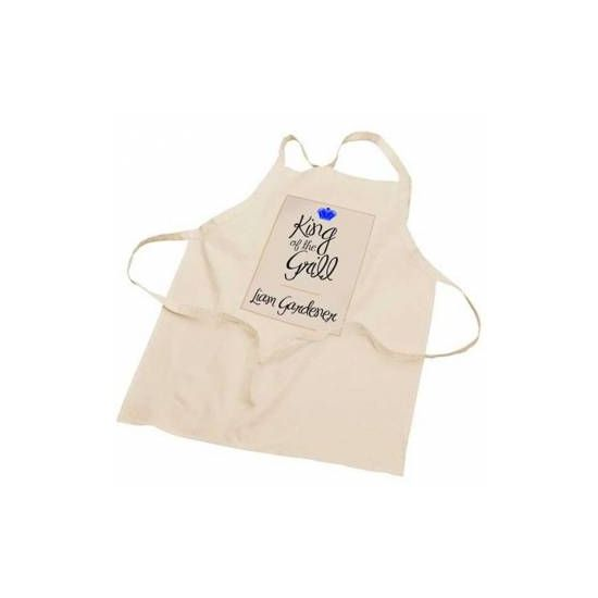Personalised King of the BBQ Apron - Kitchen & Food Gifts | Menkind