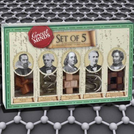 """Great Minds """" Five Puzzles"""