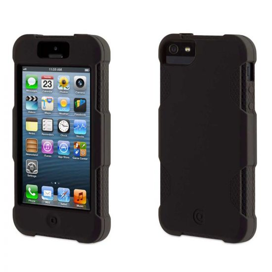 Protector Case for iPhone 5 (Black)