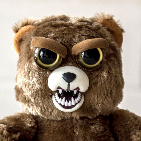 Sir Growls A Lot: Scary Teddy Bear Toy From Feisty Pets | Menkind