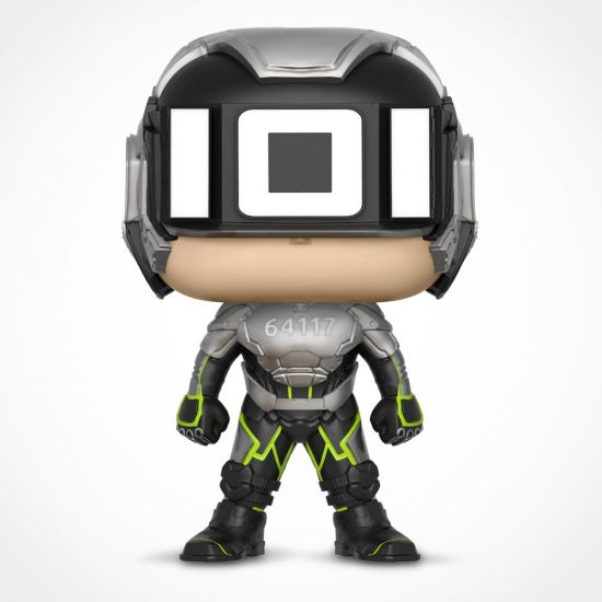 Sixer Ready Player One Pop! Vinyl on a grey background