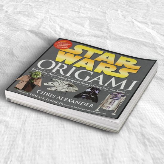 Star Wars Origami Ideal Gift Book For Star Wars Fans Menkind
