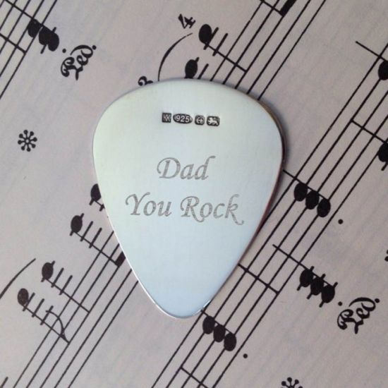 Sterling Silver Plectrum 1