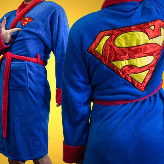 Superman Dressing Gown