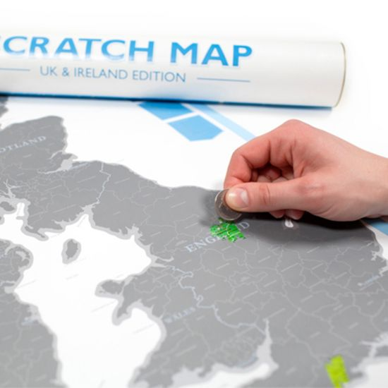 Uk ireland scratch map personalised map of uk and ireland menkind united kingdom and ireland scratch map gumiabroncs Gallery