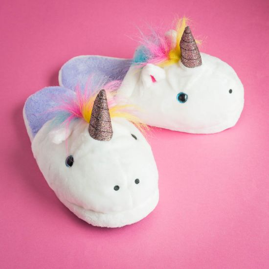 762ccf04236 Unicorn Slippers - Magical and Cosy Slippers