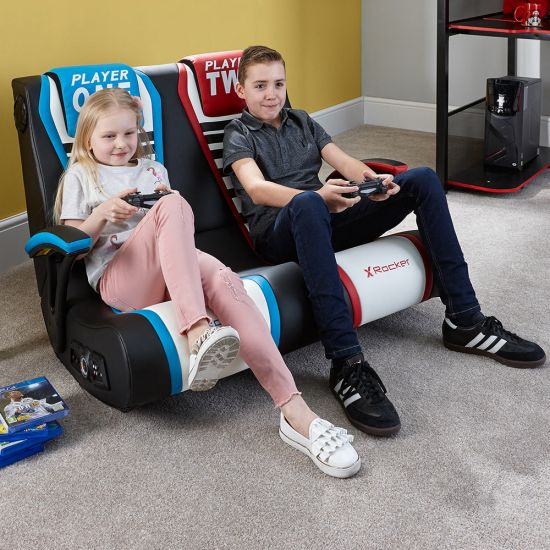 X Rocker Duel Rivals 2-Seater Gaming Chair - Lifestyle