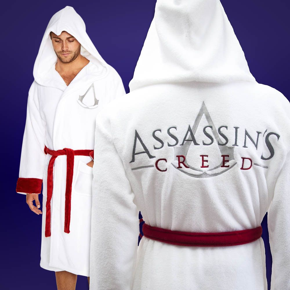 Assassin S Creed Bathrobe Comfy Clothes For Gamers Menkind