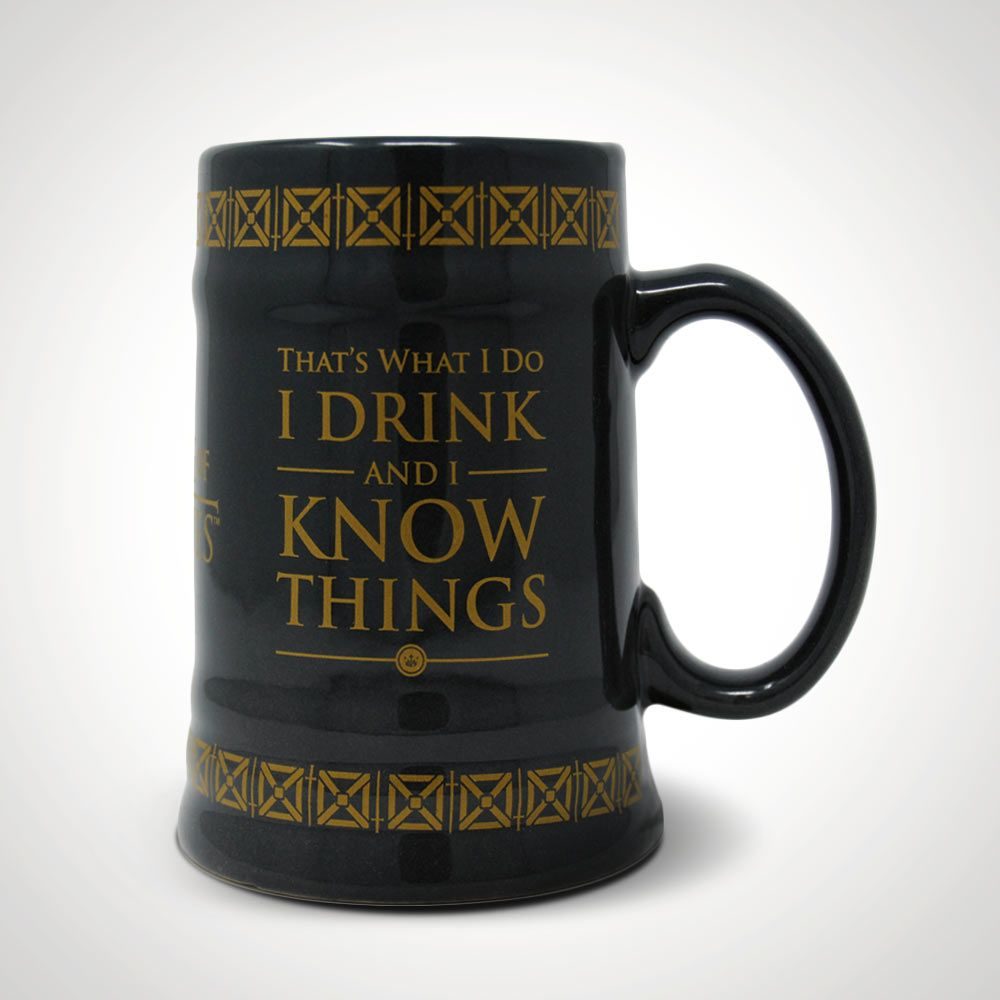 Image result for i drink and i know things