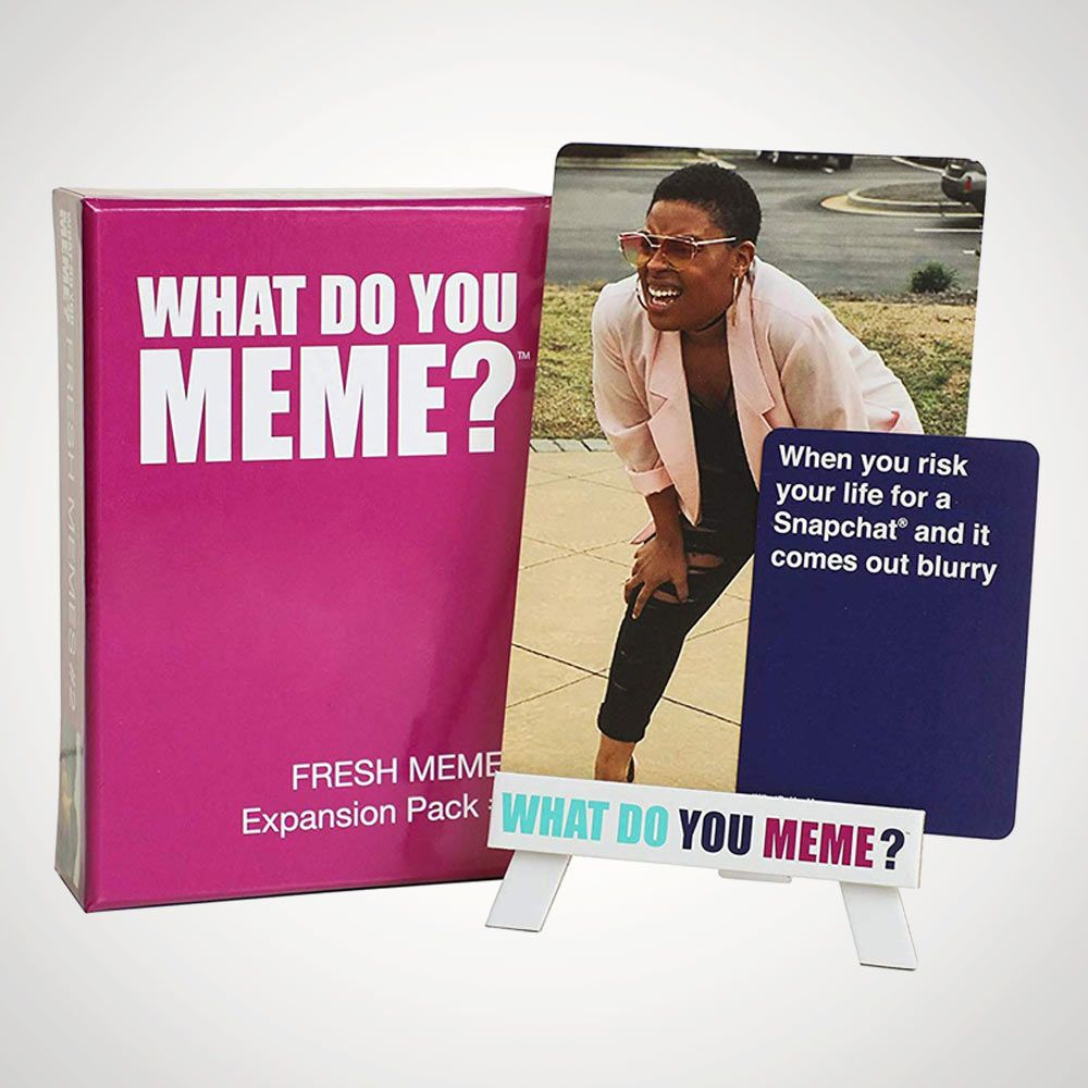 What Do You Meme Fresh Memes Expansion Pack 2 Menkind