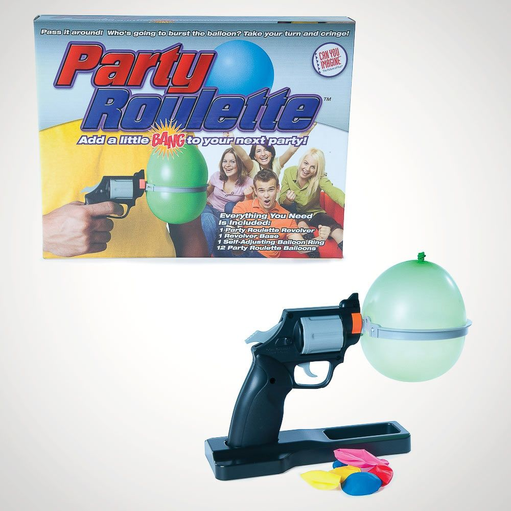 With Free Delivery! UK New Get Set Bang Roulette Water Balloon Party Game