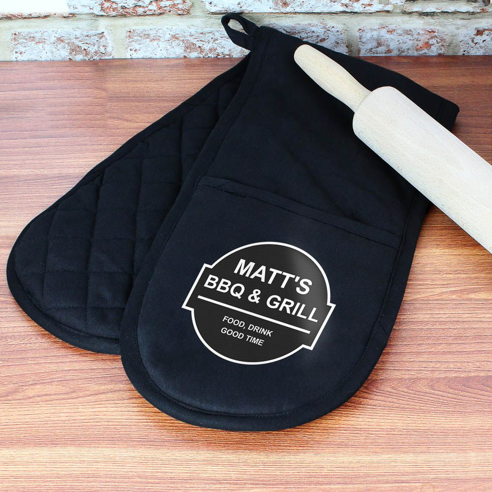 King of the Grill oven mit Male Gift Dad gifts Fathers day gift Dads Birthday