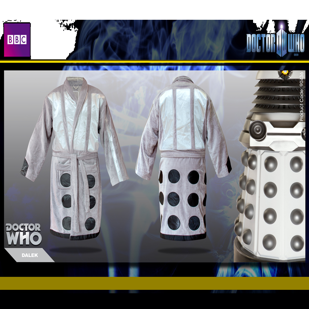Dr Who Dalek Dressing Gown