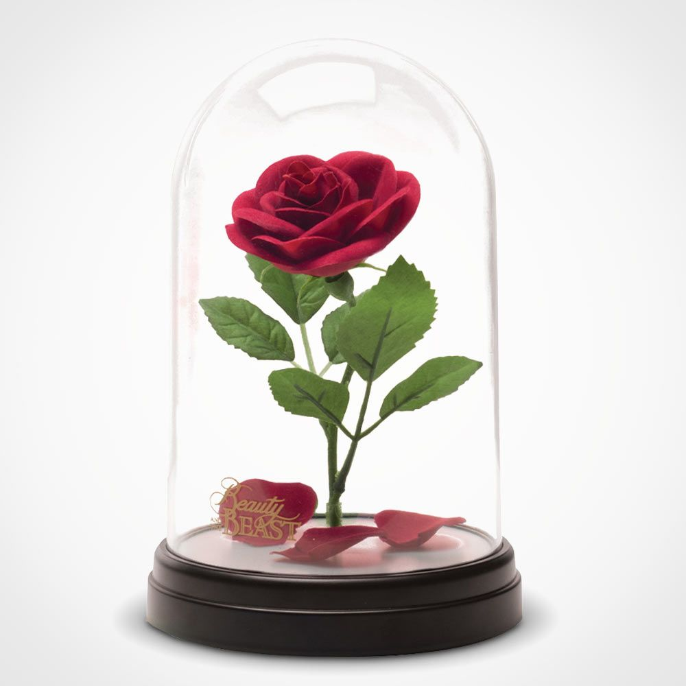 Beauty And The Beast Enchanted Rose Light Menkind