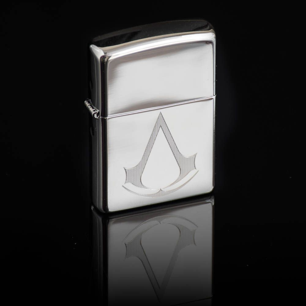 Assassins Creed Logo Lighter Officially Licensed Zippo Menkind