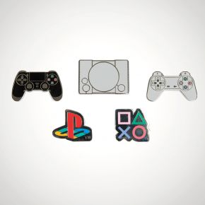 Christmas gifts for gamers PlayStation Enamel Pin Badges