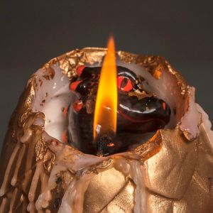 Hatching Dragon Wax Candle with Porcelain Dragon Surprise ...