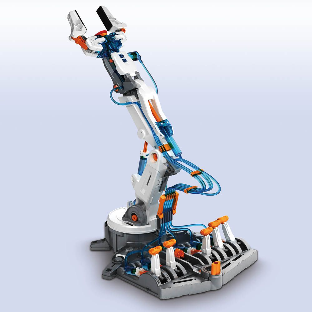Hydraulic Robot Claw : Hydraulic robot arm create a mechanical from