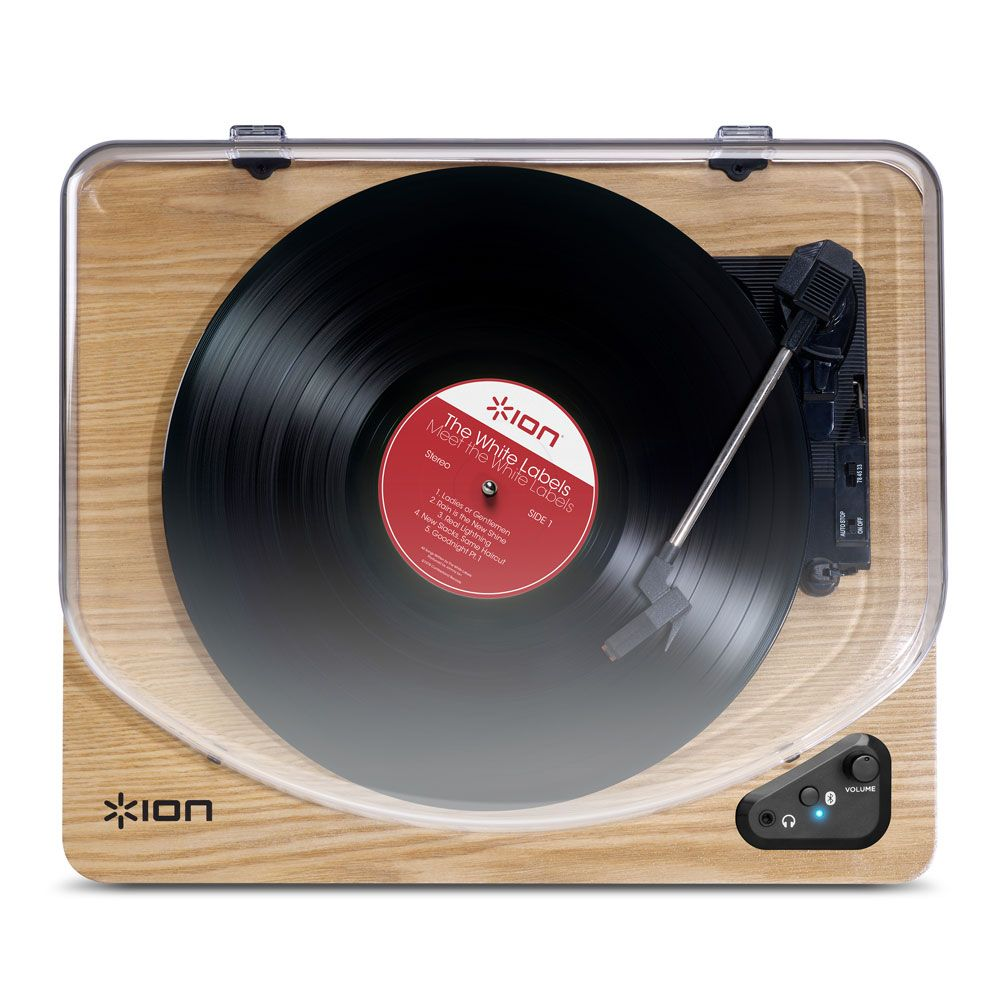Air LP Bluetooth Record Player With Speakers