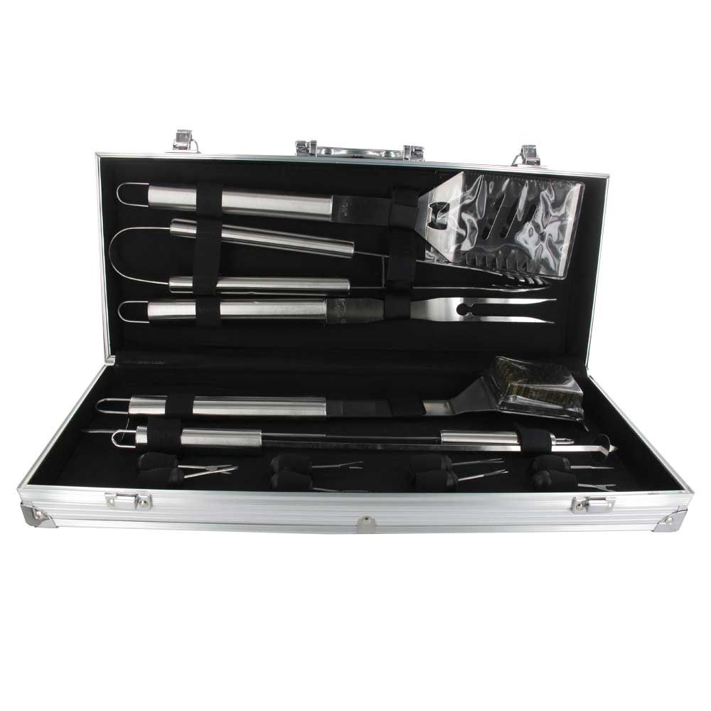 Bbq Tool Set 14 Piece Stainless Steel Bbq Tools Gift Set
