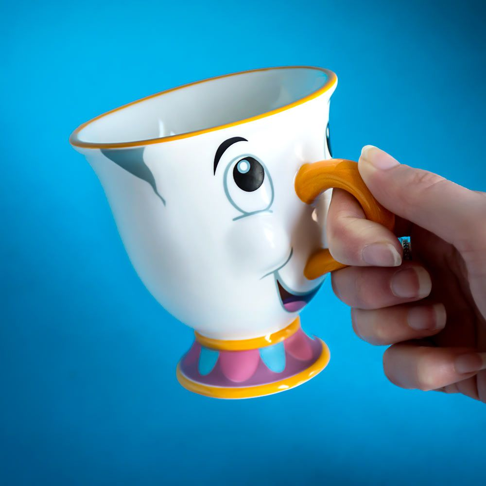Beauty And The Beast Chip Cup Chip Tea Cup: D...