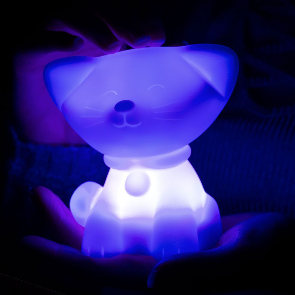 Colour Changing Cat Mood Light Multi Coloured Kitty