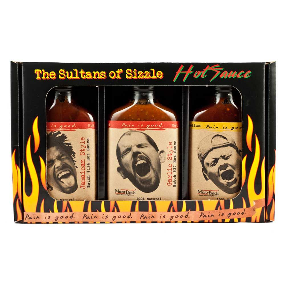 Seriously Spicy Original Juan Hot Sauce Gift Pack - 3 Pack | Menkind
