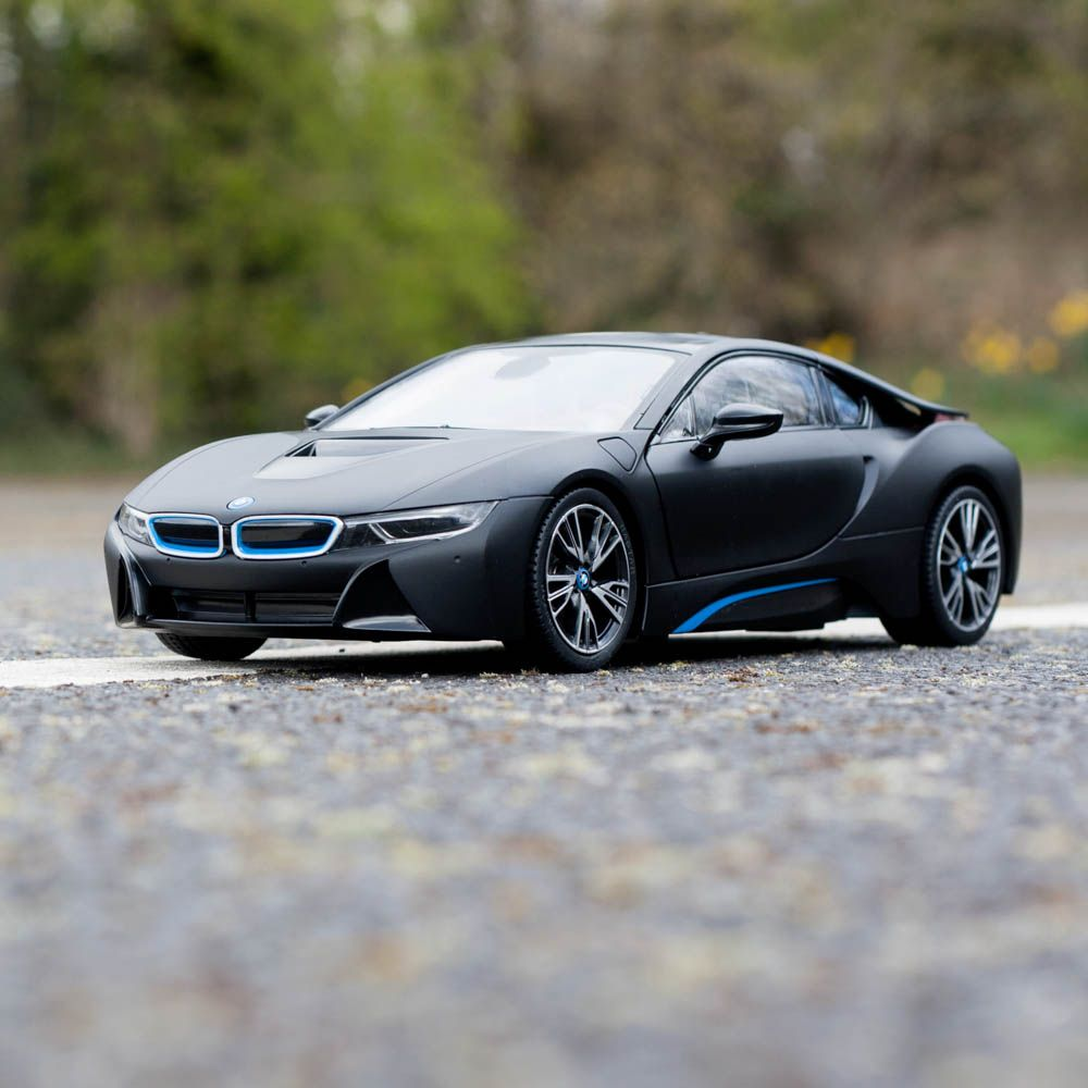 1 14 bmw i8 rc car authentic rc toy white or grey. Black Bedroom Furniture Sets. Home Design Ideas