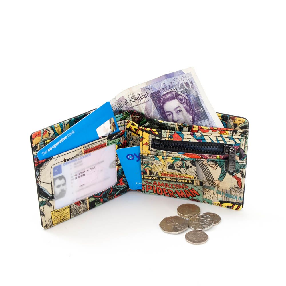 Marvel Interior Print Wallet Great Men S Gift For A