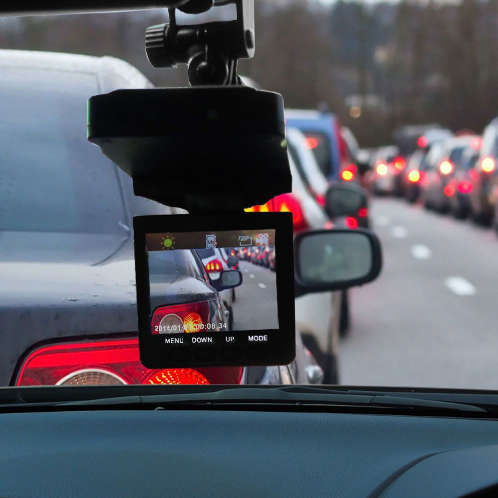 Micro Dvr Dash Cam Video Camera That Records The Road As