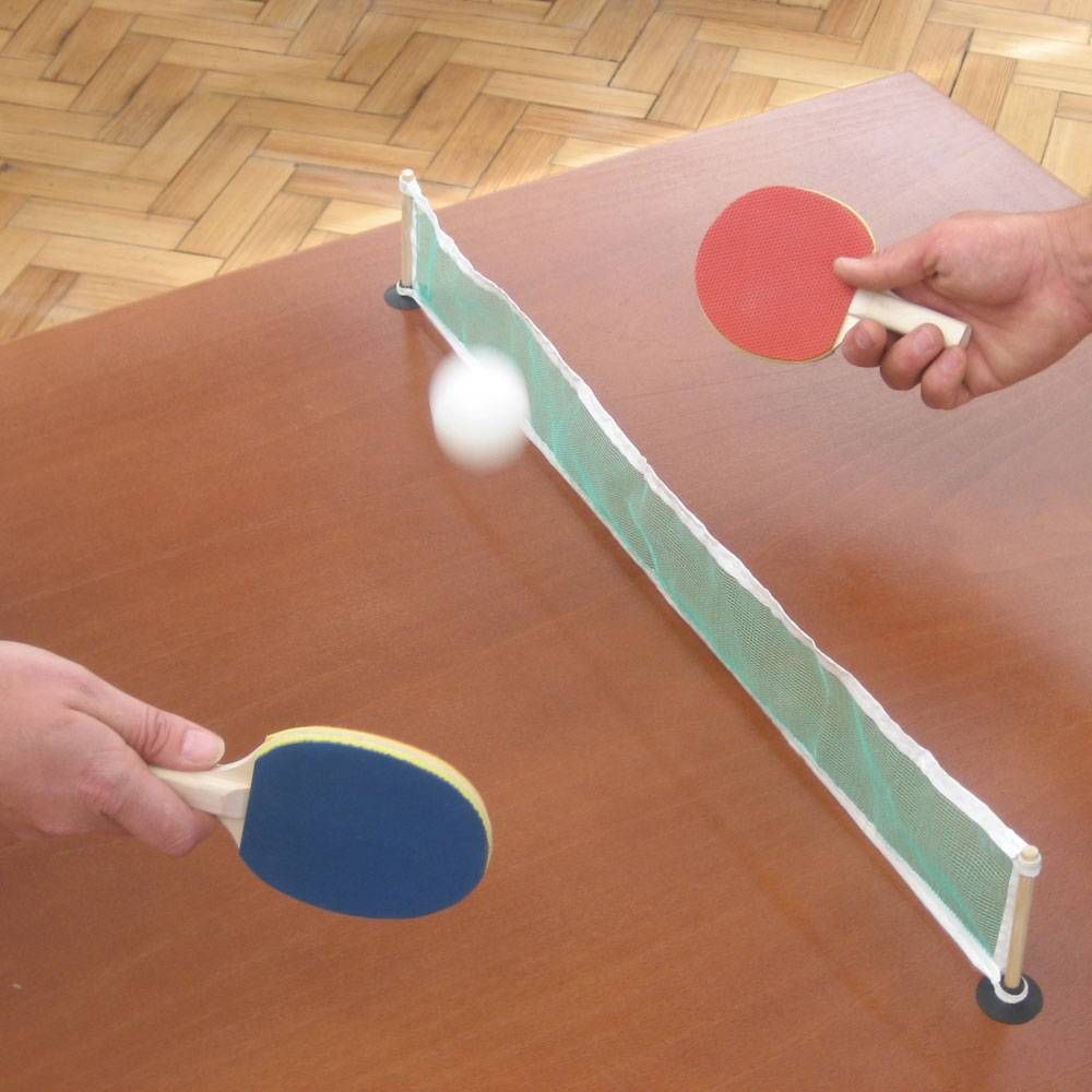 Ping Pong Desktop Tennis A Portably Fun Game For All The