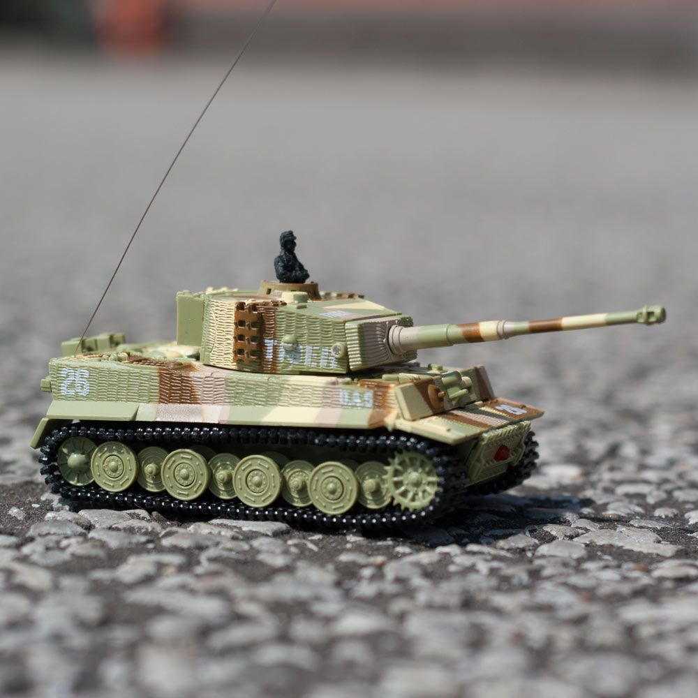 RC Turbo Tank - Camouflaged German style remote control ...