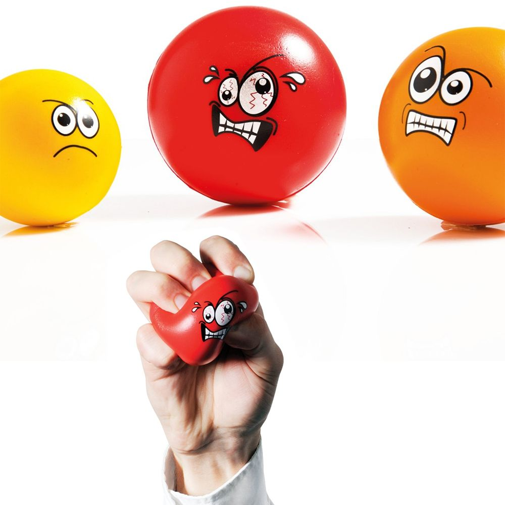 Boss Stress Relief Toys : Anger management set of stress balls ideal executive toy