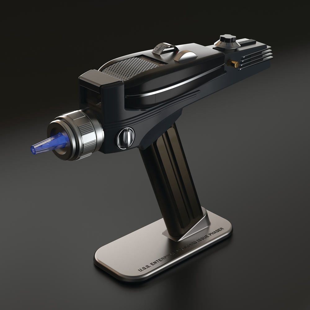 Star Trek Phaser Remote Accurate Collectable Functioning