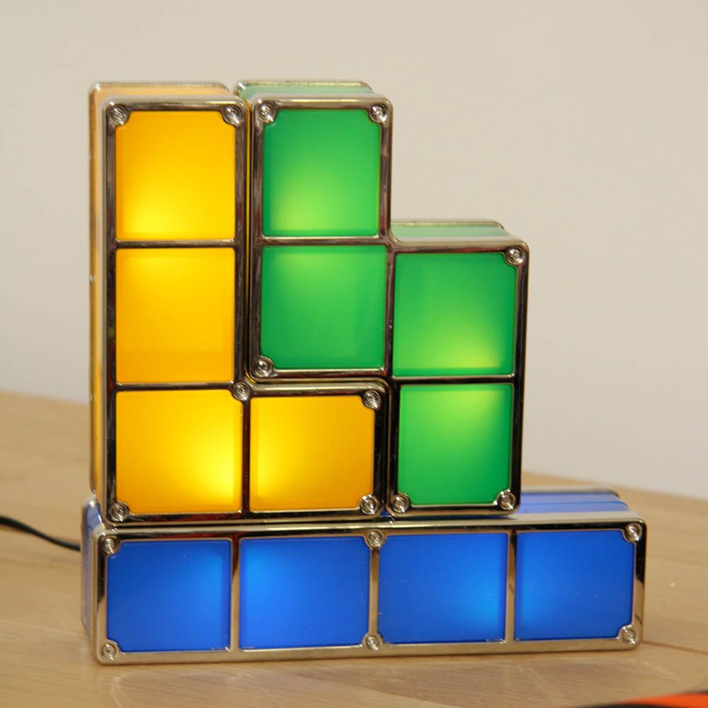 Tetris lamps best lamp 2017 new hot tetris stackable led desk lamp party supplies geotapseo Gallery