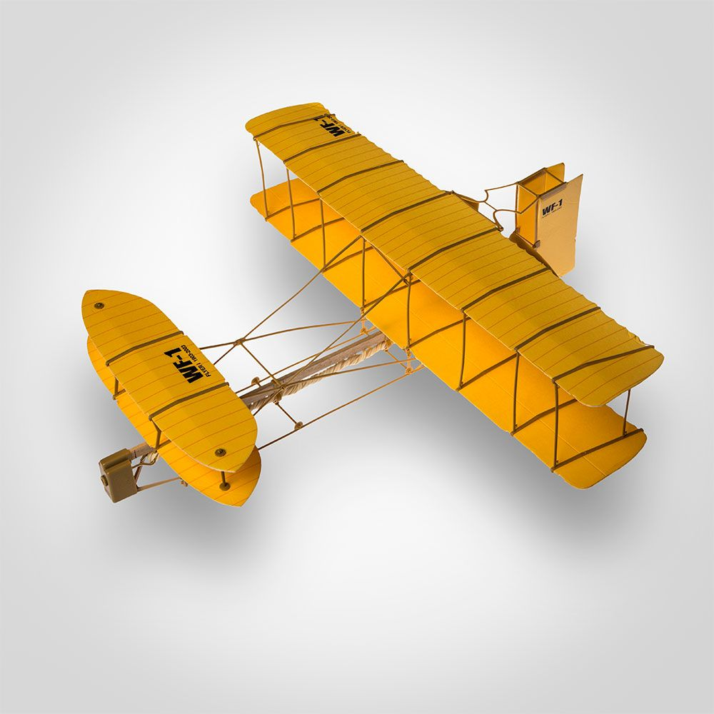 Wright Brothers Plane Kit Quot 41 Piece Kitty Hawk Model