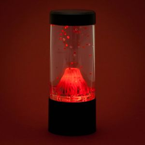 round mini volcano lava lamp novelty night light menkind. Black Bedroom Furniture Sets. Home Design Ideas