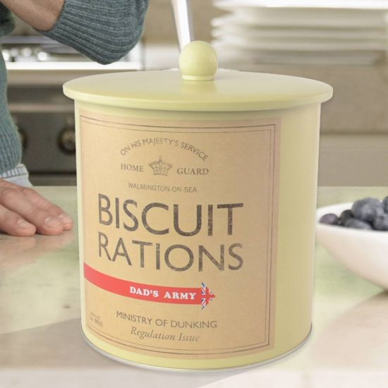 Dads Army Biscuit Barrel