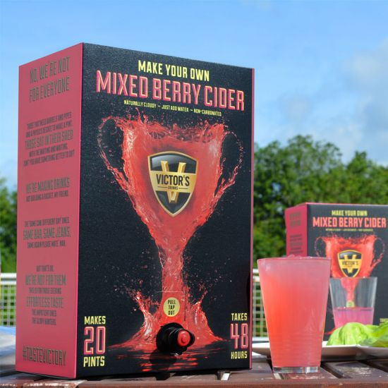 Victors Drinks Mixed Berry Cider