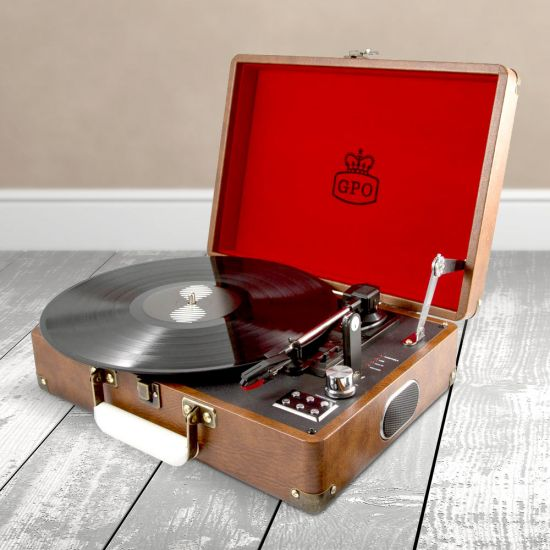 Menkind record player